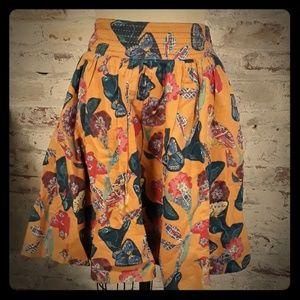 Anthropologie Women's Nathalie Lete Paris Skirt
